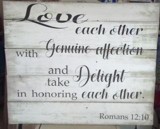 Romans 12.10 Elise Drinkard