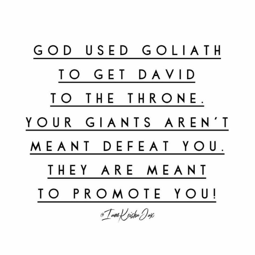 God used Goliath