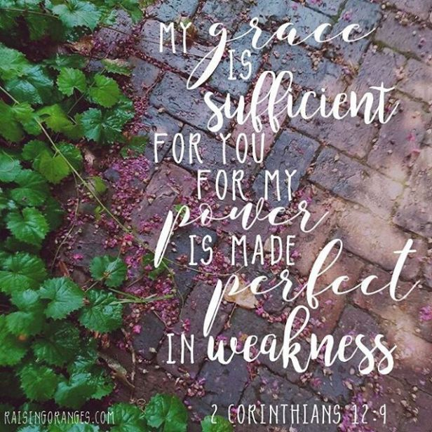 perfect in weakness