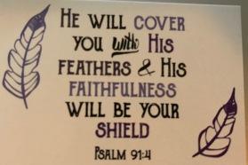 psalm 91.4 card