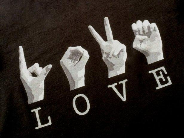 sign LOVE